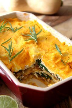 Pompoen spinazie lasagne PROPOINTS: Recept voor 4 personen Lasagne MET gehakt: 39 PP = 10 PP per persoon Lasagne ZONDER gehakt: 16 PP = 4 PP per persoon!