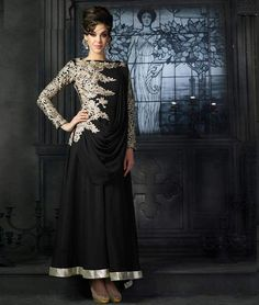 Latest ‪#Designer Long #AnarkaliSuit ‬ to give you a #‪beautiful look. Pay Online & Get Extra discounts. Free ‪Shipping‬. Buy Now: - http://www.shoppers99.com/anarkali_suits/party_wear_anarkali_suits
