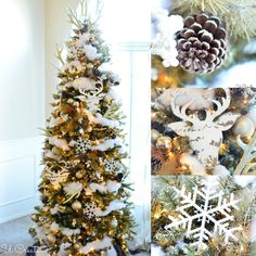 "Winter Won""Deer""land Christmas Tree by MichaelsMakers U Create"