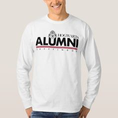 Harry Potter | HOGWARTS™ Alumni GRYFFINDOR™ T-Shirt | Zazzle.com