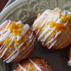 A drizzle of white chocolate on top gives these Orange Vanilla Muffins just the right amount of sweetness to make them a true treat. Serve them for a quick morning bite or pass them around as an appetizer for a hearty brunch.