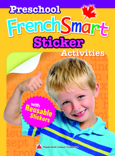 A fun activity workbook for kids to learn French: Smart ...