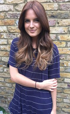 Binky Felstead tries the french hair colouring technique balayage which first came about i...