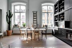 Alexander White Designs a Scandinavian Apartment in Stockholm, Sweden