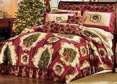 Christmas Tree Comforter Set