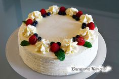 Romanian Desserts, Cake Designs, Sweet Treats, Cheesecake, Birthday Cake, Baking, Pie Cake, Cinnamon Rolls, Cake Decorations
