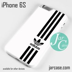 White Straight Adidas Phone case for iPhone 6/6S/6 Plus/6S plus