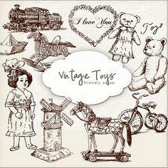 New Freebies Kit vintage toys