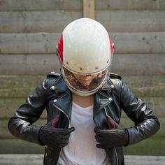 Roland Sands Women's Riot Glove - Bell Bullitt helmet