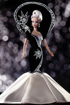 Diamond Dazzle Barbie Doll - 1997 Collectible Designer Dolls - Bob Mackie - Barbie Collector