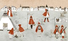 red riding hood by Madame Lolina, via Flickr