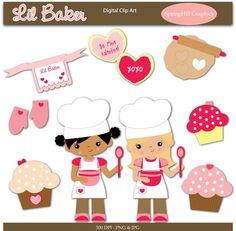 Lil' Baker clip art