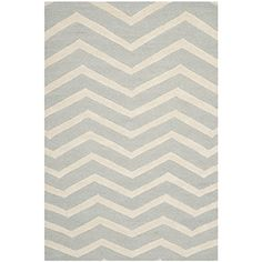 Safavieh Cambridge Collection CAM714G Handmade Moroccan Geometric Grey and Ivory Premium Wool Area Rug 8 x 10 *** Check this awesome product by going to the link at the image.