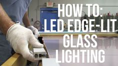 EX-ALU series LED edge lit profile made of sturdy aluminium metal for edge lighting glass or plexiglass signs with sandblasting or laser etched graphics and ...