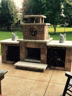 outdoor fireplaces compact and home depot on pinterest