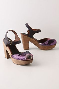Mirrorball Clogs from Anthro; I missed out on these and will be scouring ebay for a pair!