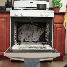 Chemical-Free Oven Cleaner