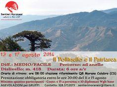 Pollinello e Patriarca www.sentierimoranesi.com