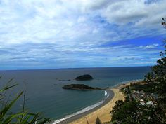 View from Mount Manganui