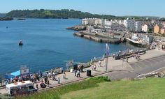 Looking out to sea from the Hoe, Plymouth