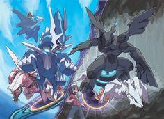 Pokemon Dialga Palkia Zekrom Reshiram Latios ring tumblr