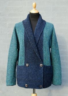 Walk in the Park Cardigan Teal