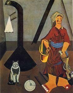 La Fermière - (Joan Miro)