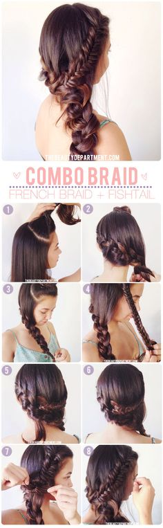 Lovely! #hairstyle #tutorial #braid