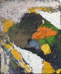 George McNeil (1908-1995), Romanga, 1953, oil on panel, 20 x 16""