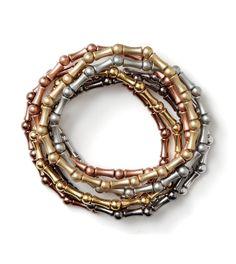 Multiplicity Bracelets by lia sophia.