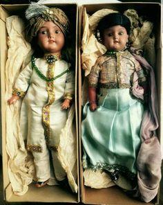 Museum piece Couple Armand Marseille Dolls Very Rare