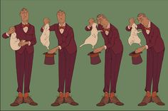 """""""The Illusionist (L'Illusionniste)"""" by Sylvain Chomet*   © Django Films*  • Blog/Info   (https://en.wikipedia.org/wiki/Django_Films)  ★    CHARACTER DESIGN REFERENCES™ (https://www.facebook.com/CharacterDesignReferences & https://www.pinterest.com/characterdesigh) • Love Character Design? Join the #CDChallenge (link→ https://www.facebook.com/groups/CharacterDesignChallenge) Share your unique vision of a theme, promote your art in a community of over 50.000 artists!    ★"""
