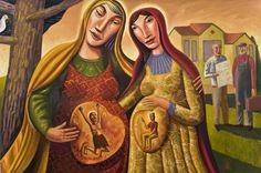 """Visitation"" by artist Jim Janknegt"