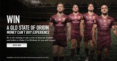 WIN A QLD STATE OF ORIGIN EXPERIENCE http://nz.canterbury.com/blog/giveaways/win-a-qld-state-of-origin-experience/?lucky=7713