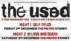 #Ticket  The Used General Admission Standing Tickets- Fri 2nd Dec16 Enmore Theatre NSW #Australia