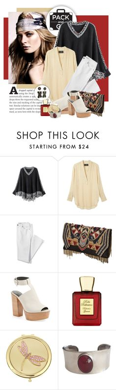 """Pack and Go: Mexico City"" by lenochca ❤ liked on Polyvore featuring WithChic, By Malene Birger, Lands' End, Balmain, Rebecca Minkoff, Bella Bellissima, Monet and Packandgo"
