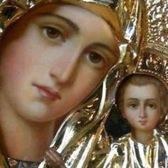 Ενα μωρό ρώτησε το Θεό... - ΕΚΚΛΗΣΙΑ ONLINE Spiritual Path, Mother Mary, Pedi, Spirituality, Beautiful, Greece, Icons, Greece Country, Virgin Mary