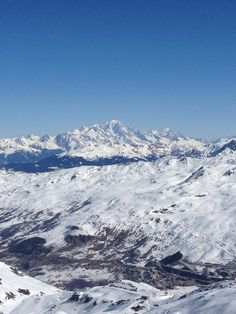 View from Pointe de la Masse, Les Menuires, FR