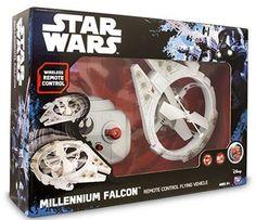 ¡Chollo! Drone volador Star Wars Millenium Falcon de Giochi Preziosi por 46.29 euros.