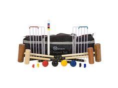 Fab family croquet set!  https://www.ecotopia.co.uk/home-garden/home/toys-games/family-croquet-set