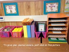 Teacherific: daily 5 Work on Writing Journal Covers