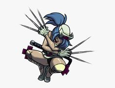 Skullgirls sprite of the day: Photo Girls Characters, Fictional Characters, Skullgirls, Character Design References, Bowser, Day, Anime, Sprites, Gaming