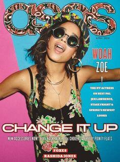 Zoe Kravitz for ASOS Magazine, April 2014