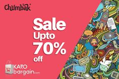 Up to 70% OFF on Clothing! Don't miss this sale ! #chumbak #KaroBargain http://www.karobargain.com/stores/chumbak/235621