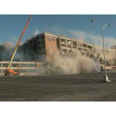 The implosion of the Executive Inn, Owensboro Kentucky