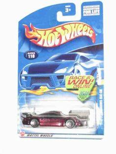 Hot Wheels Mercedes CLK-LM 2002-118 die-cast car metallic purple by Hot Wheels. $4.99. Mercedes CLK-LM metallic purple.