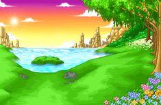 Nhanh tay tải hình nền động – Hồ nước xanh để hòa mình vào ánh nắng chan hòa, những cơn gió mát lành thổi qua mặt hồ gợn sóng và lắng nghe những tán lá cây rì rào nhé!