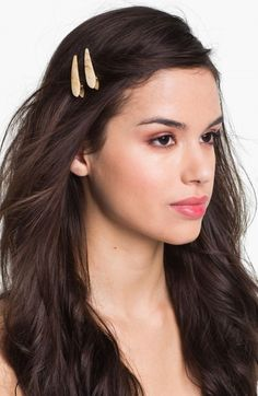 Ficcare Mini Maximas Hair Clip Set Of 2 Pearl | Jewelry and Accessory