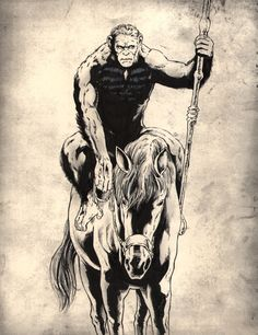 Caesar / Dawn of the Planet of the Apes by jasonbaroody on deviantART