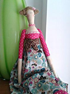 My first tilda... love them!!! #sewing #doll #tilda #craft #handmade